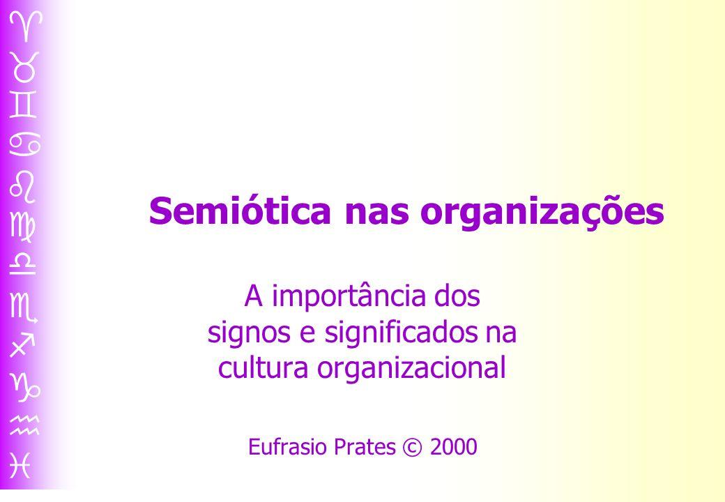 Semiótica nas organizações