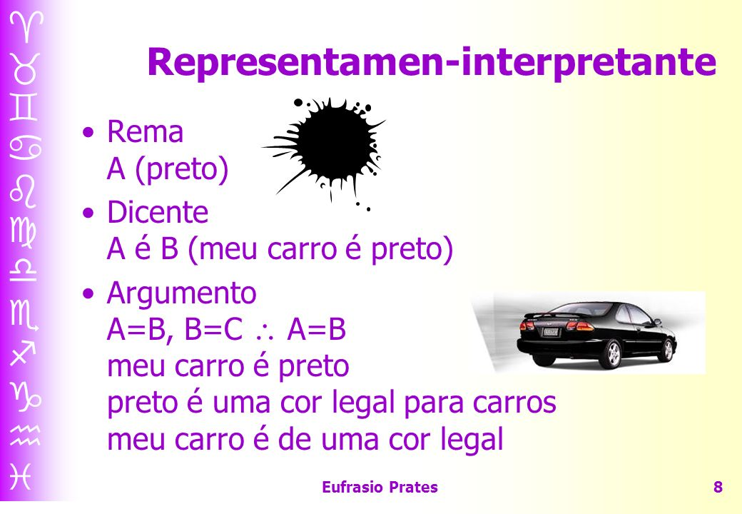 Representamen-interpretante