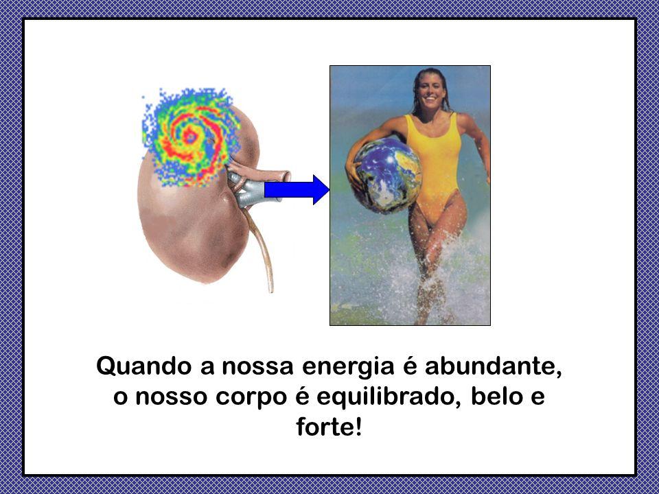 Quando a nossa energia é abundante, o nosso corpo é equilibrado, belo e forte!
