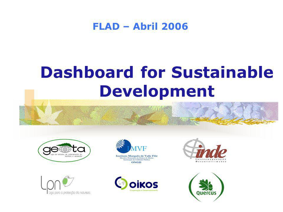 Dashboard for Sustainable Development