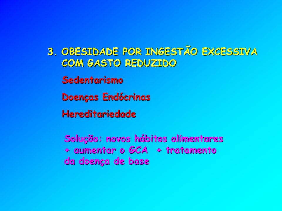 3. OBESIDADE POR INGESTÃO EXCESSIVA COM GASTO REDUZIDO