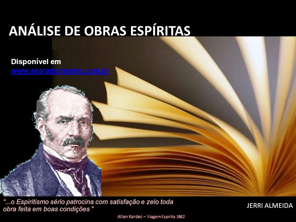 ANÁLISE DE OBRAS ESPÍRITAS
