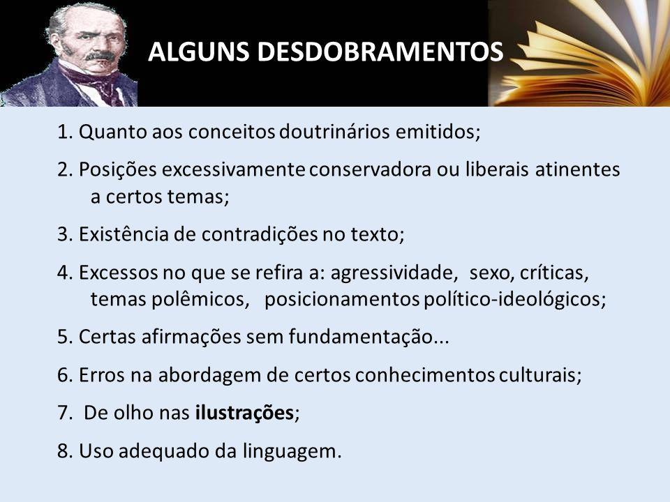 ALGUNS DESDOBRAMENTOS