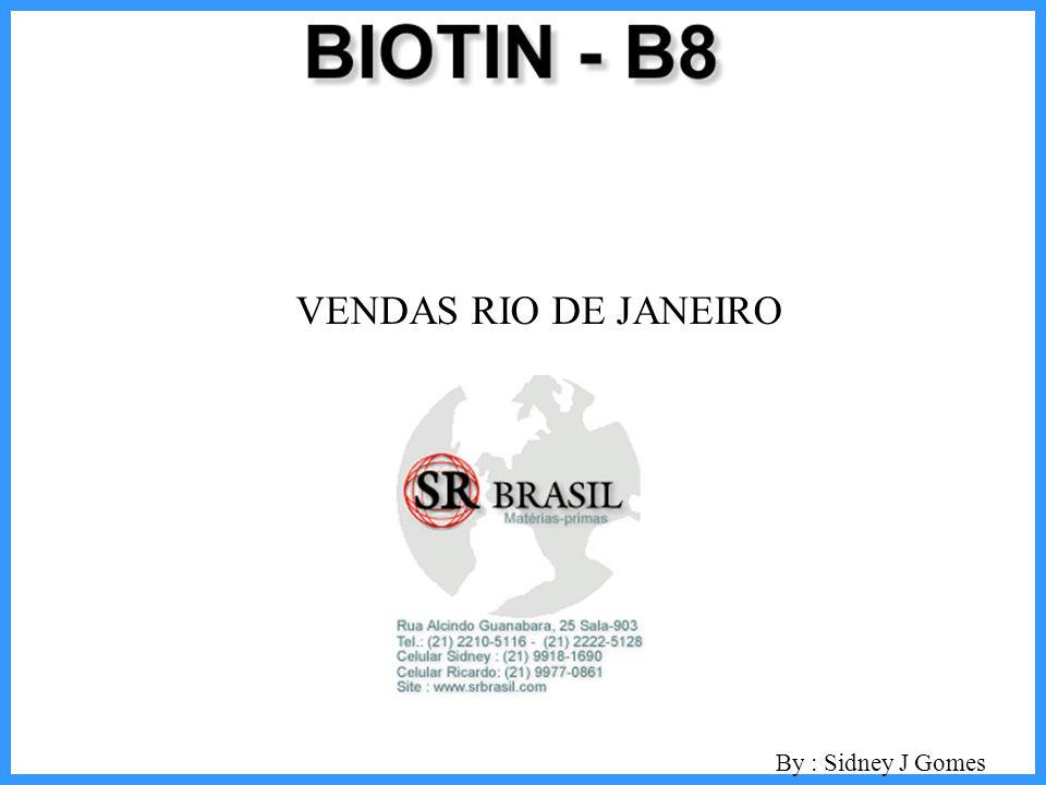 VENDAS RIO DE JANEIRO By : Sidney J Gomes