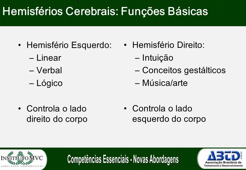 Hemisférios Cerebrais: Funções Básicas