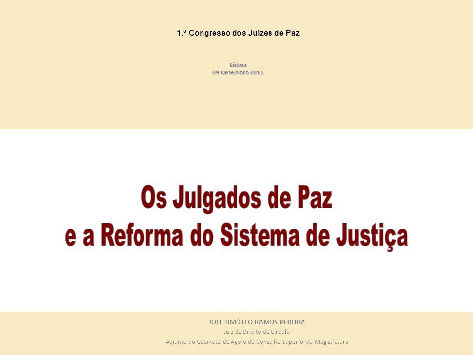 1.º Congresso dos Juízes de Paz JOEL TIMÓTEO RAMOS PEREIRA