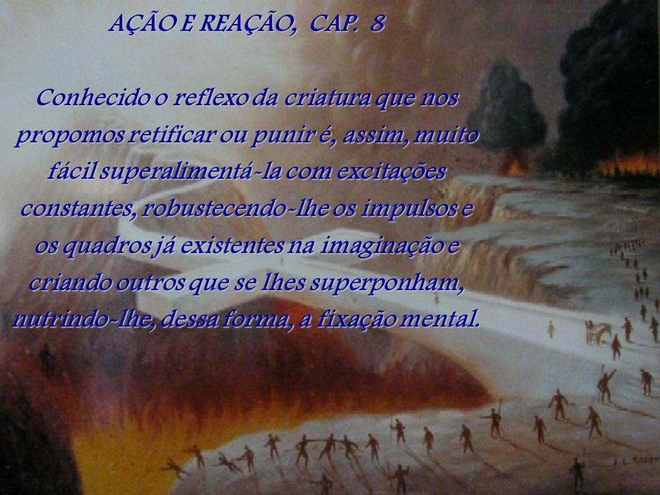 AÇÃO E REAÇÃO, CAP. 8
