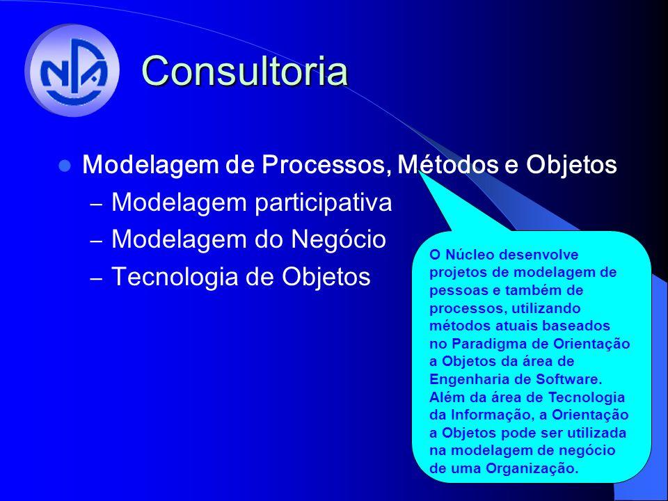Consultoria Modelagem de Processos, Métodos e Objetos