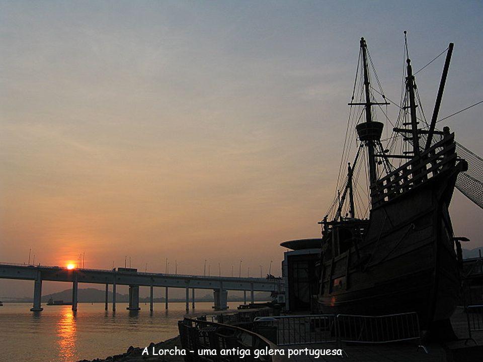 A Lorcha – uma antiga galera portuguesa
