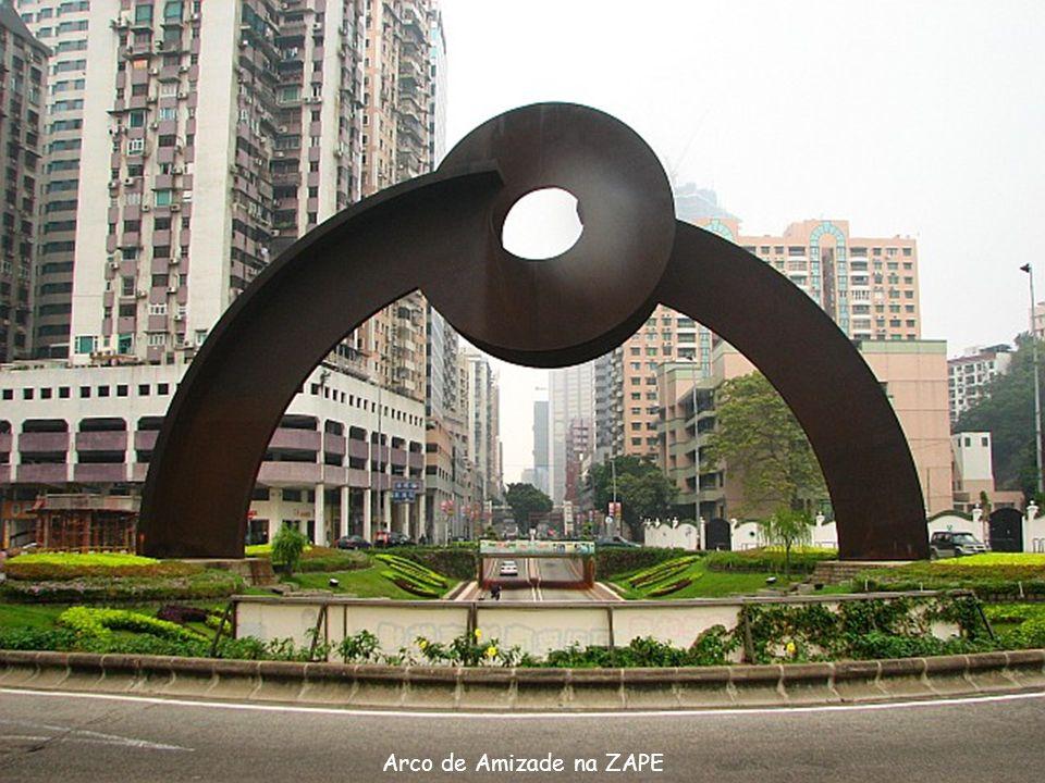 Arco de Amizade na ZAPE