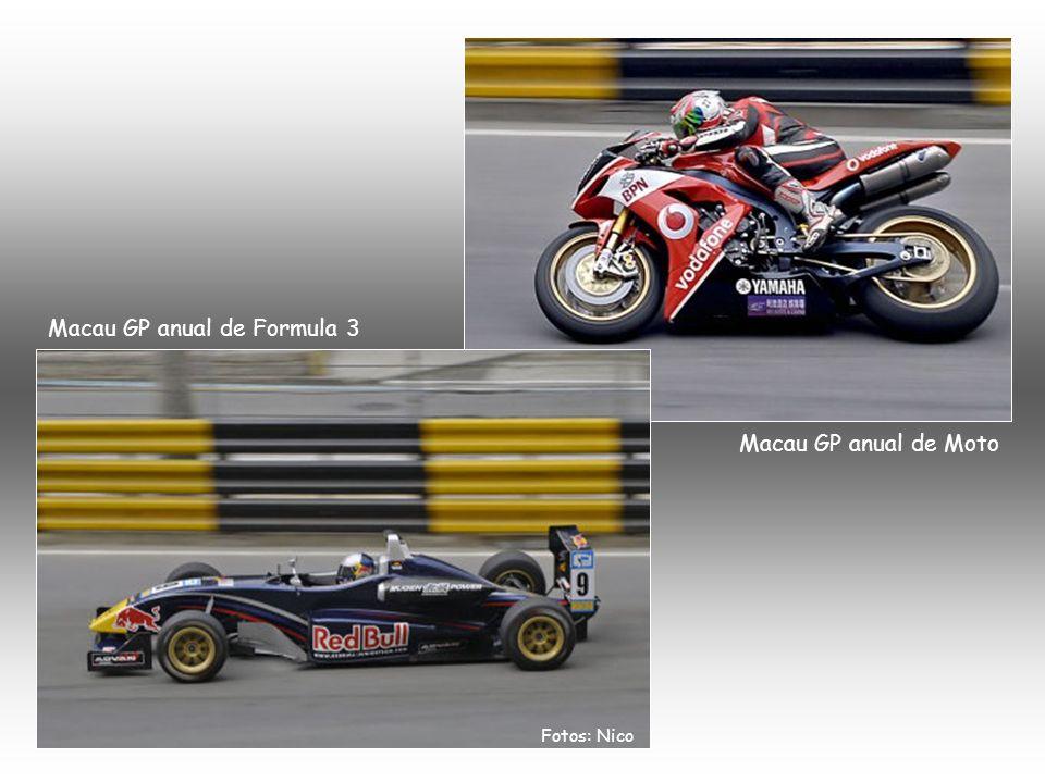 Macau GP anual de Formula 3