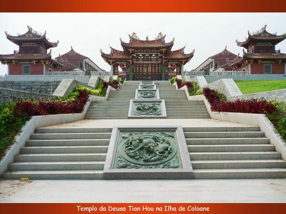 Templo da Deusa Tian Hou na Ilha de Coloane