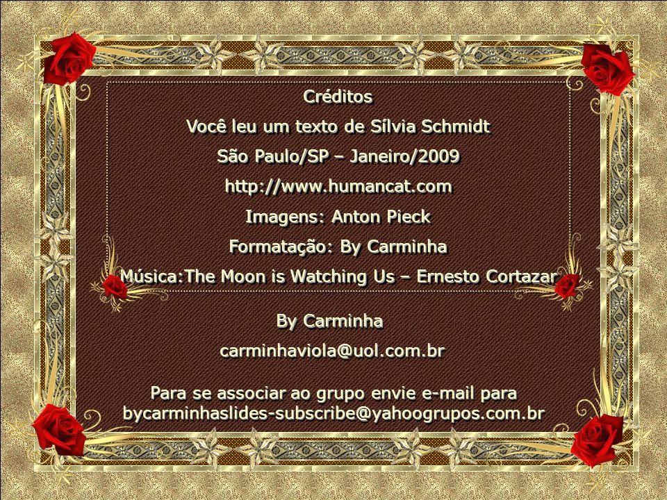 Você leu um texto de Sílvia Schmidt São Paulo/SP – Janeiro/2009