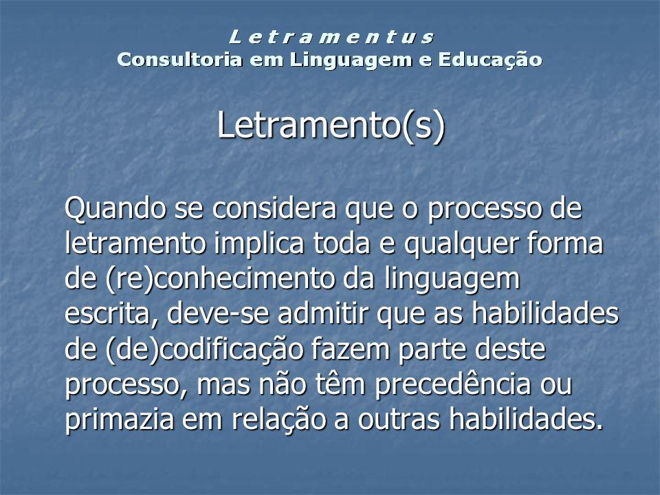 Letramento(s)