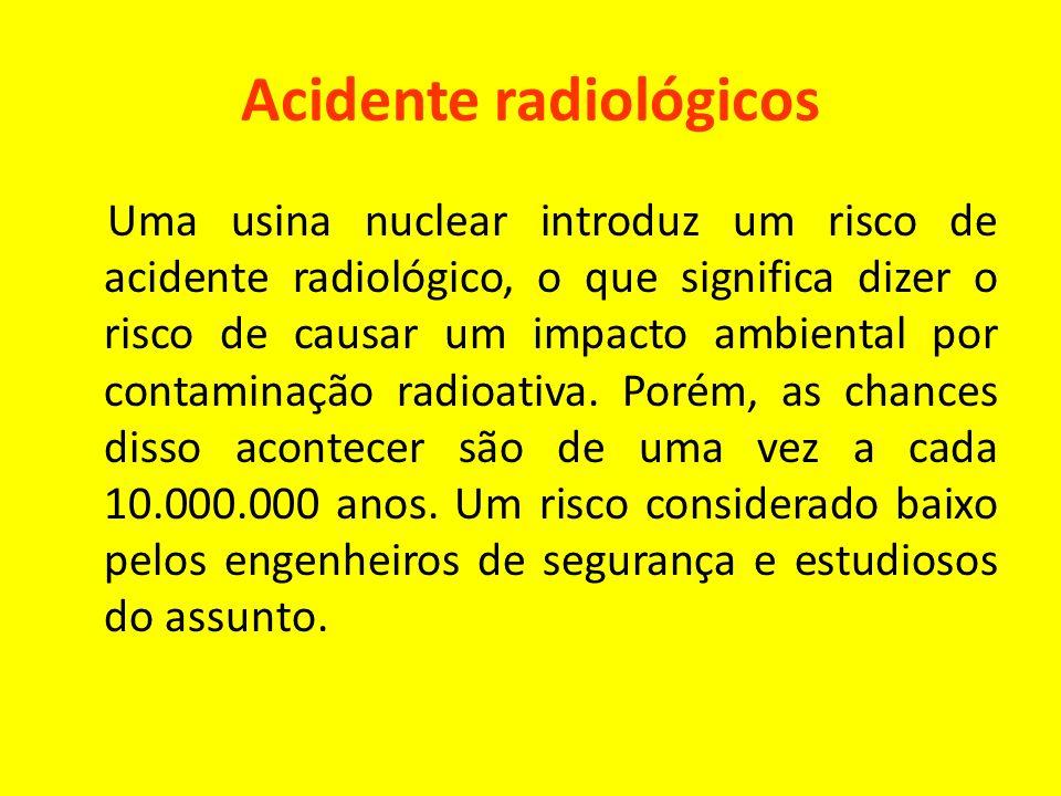 Acidente radiológicos