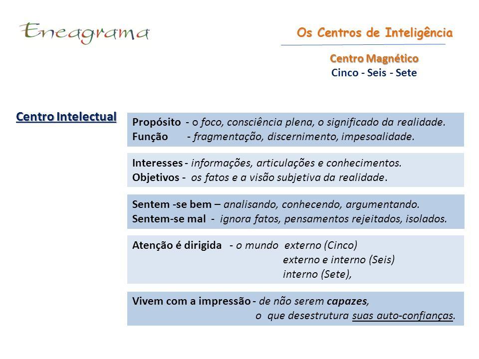 Centro Intelectual Os Centros de Inteligência Centro Magnético
