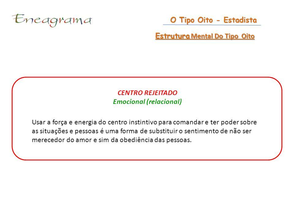 Estrutura Mental Do Tipo Oito Emocional (relacional)