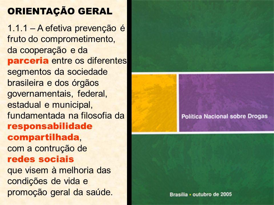 ORIENTAÇÃO GERAL