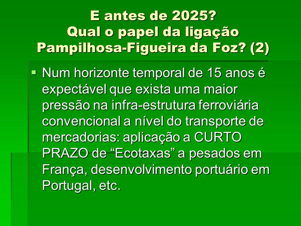 E antes de 2025. Qual o papel da ligação Pampilhosa-Figueira da Foz