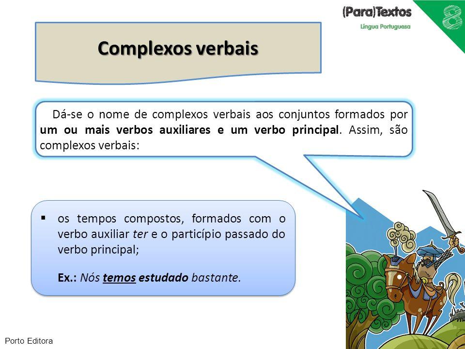 Complexos verbais