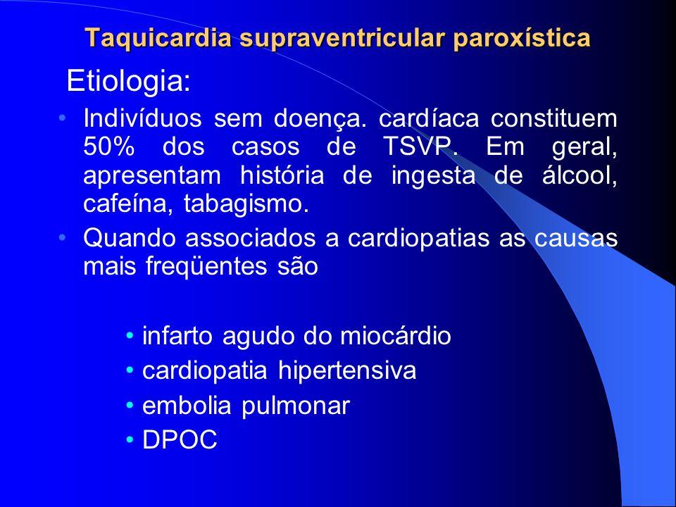 Taquicardia supraventricular paroxística