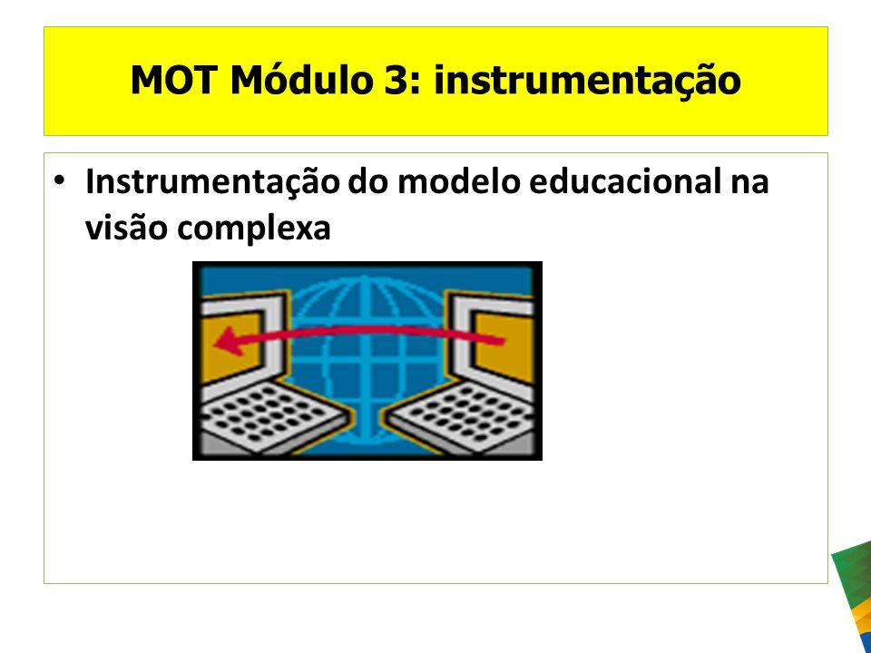 MOT Módulo 3: instrumentação