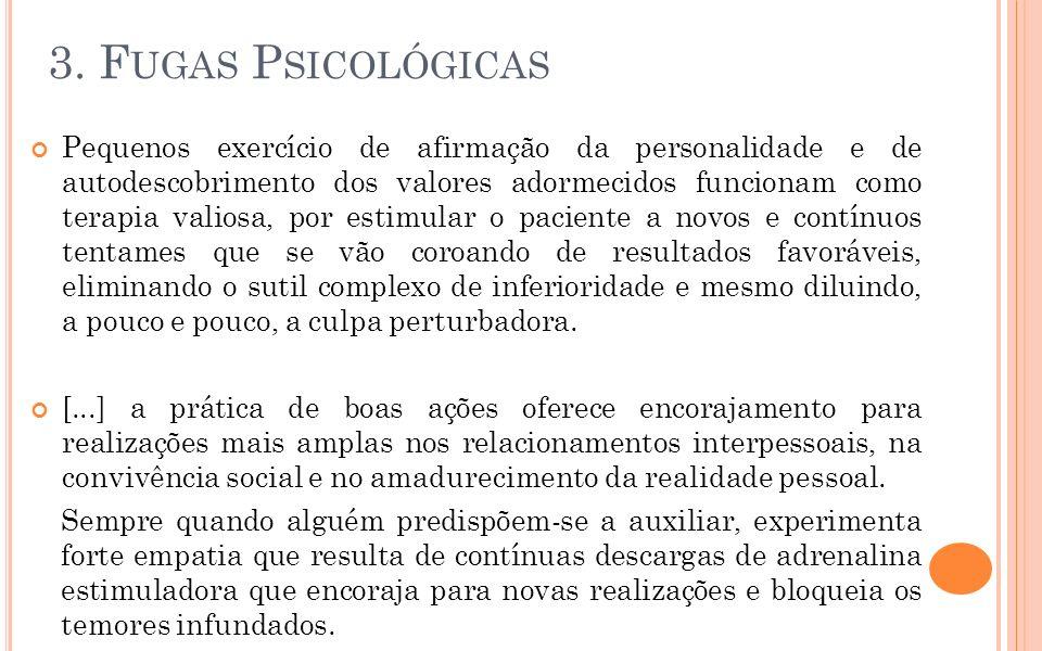3. Fugas Psicológicas