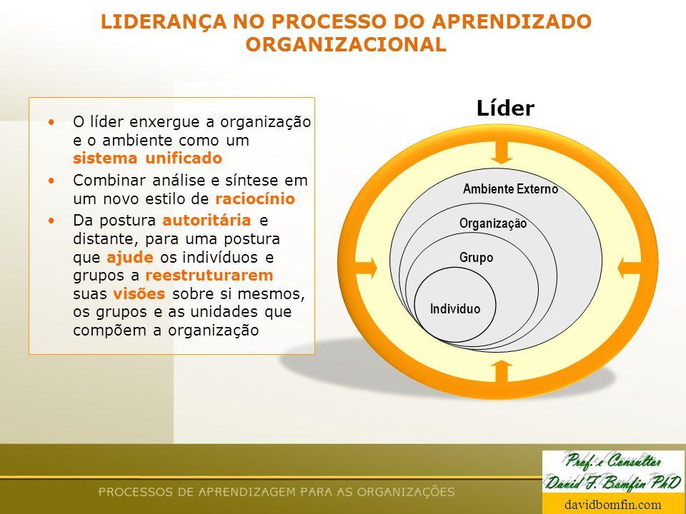 LIDERANÇA NO PROCESSO DO APRENDIZADO ORGANIZACIONAL