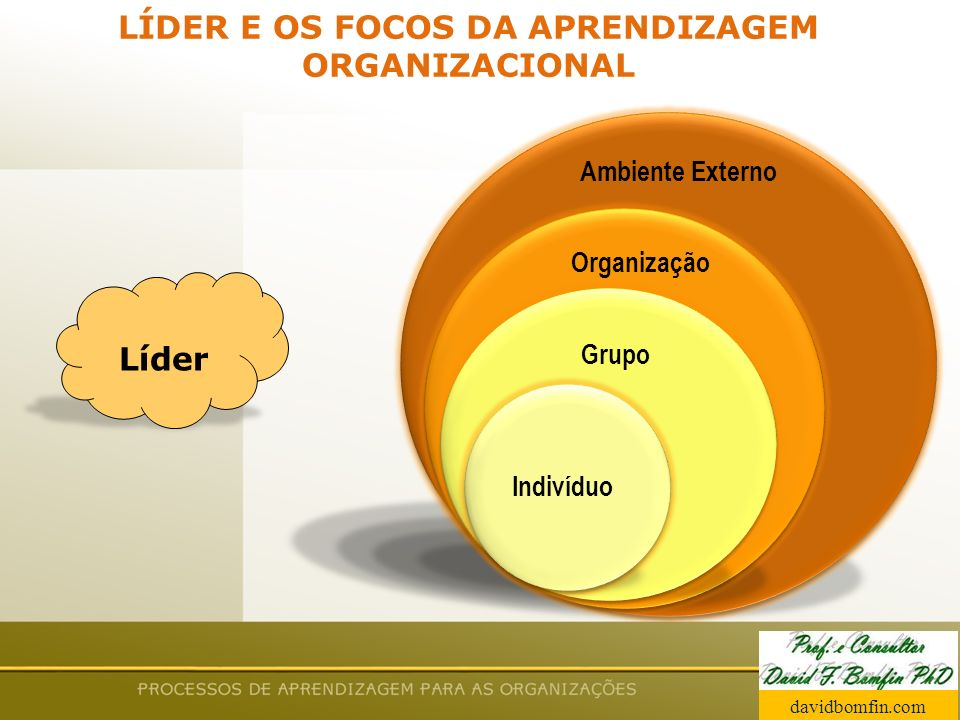 LÍDER E OS FOCOS DA APRENDIZAGEM ORGANIZACIONAL