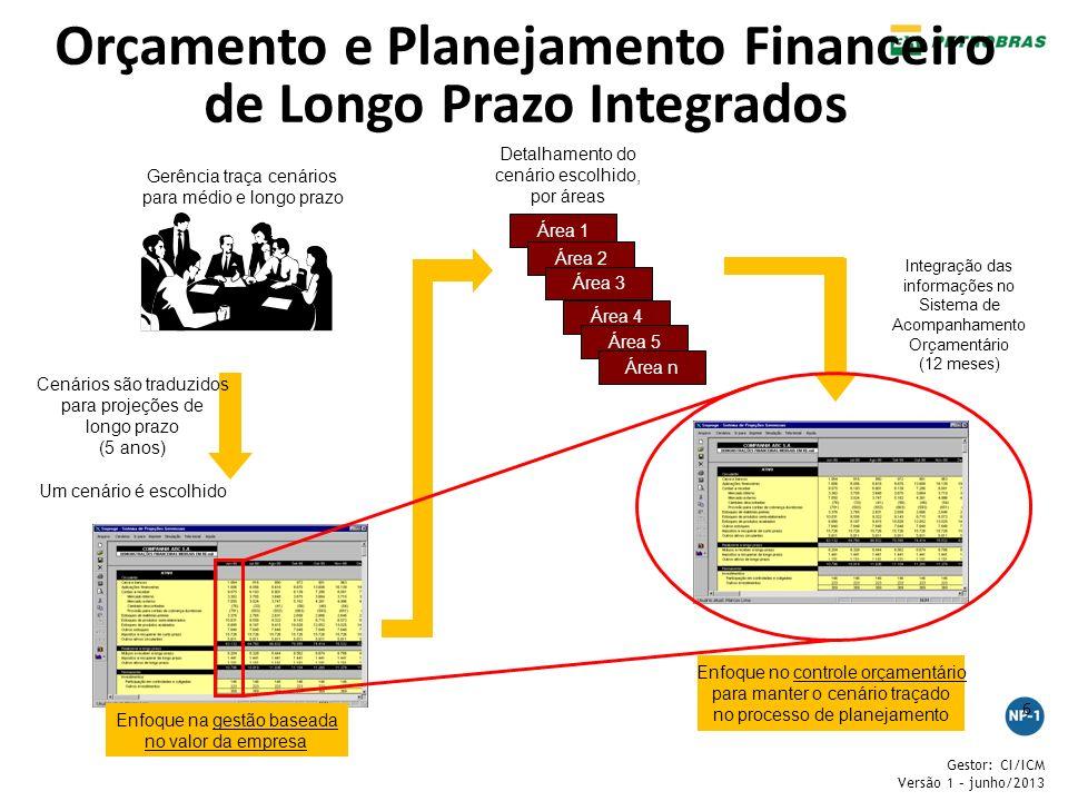 Orçamento e Planejamento Financeiro de Longo Prazo Integrados