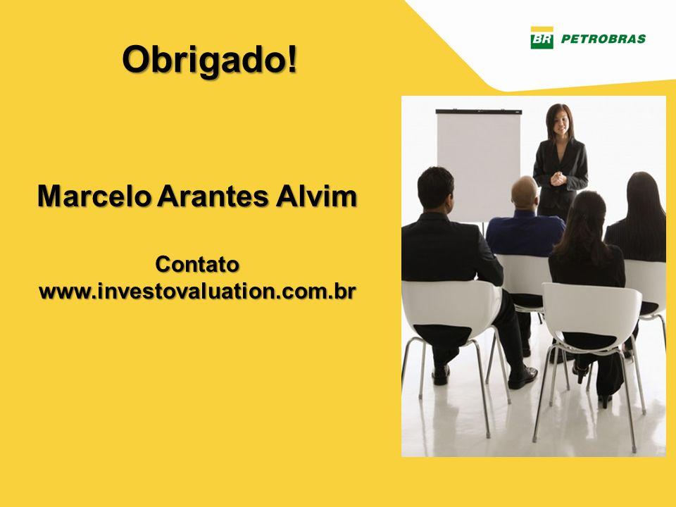 Marcelo Arantes Alvim Contato www.investovaluation.com.br