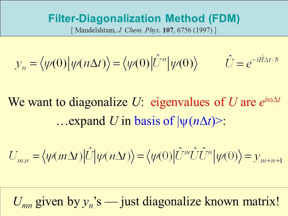 Filter-Diagonalization Method (FDM)