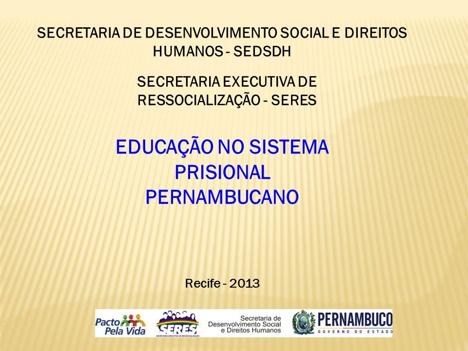 EDUCAÇÃO NO SISTEMA PRISIONAL PERNAMBUCANO