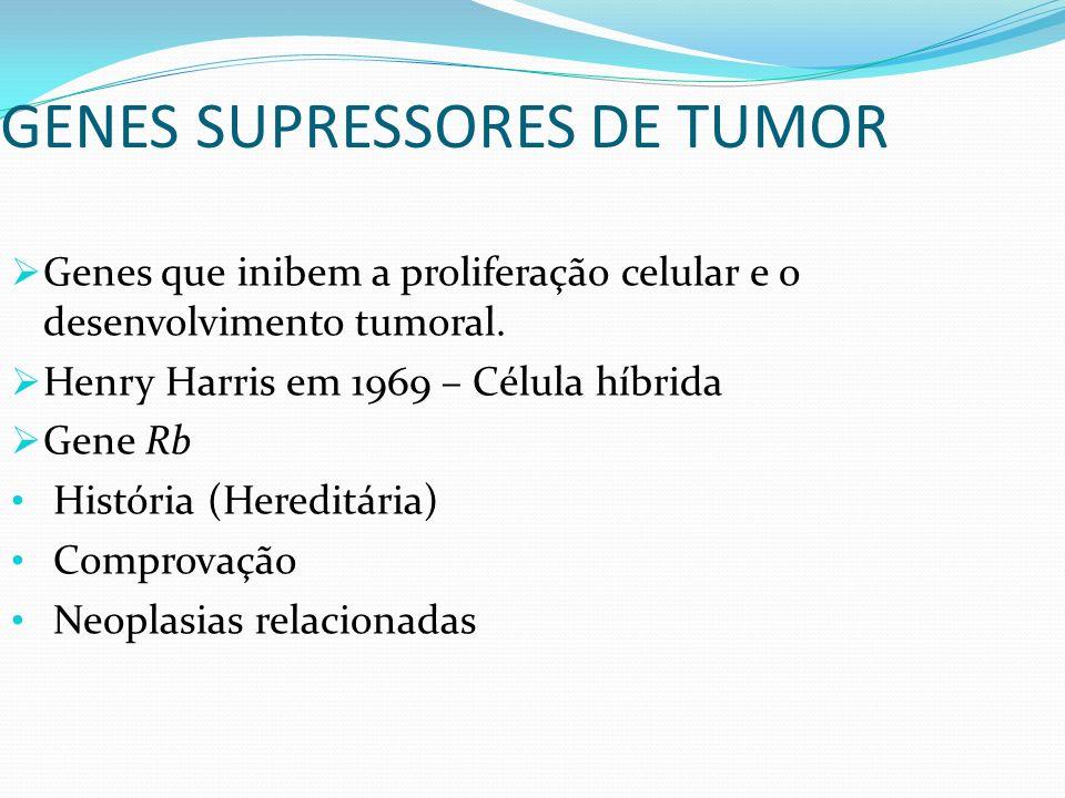 GENES SUPRESSORES DE TUMOR