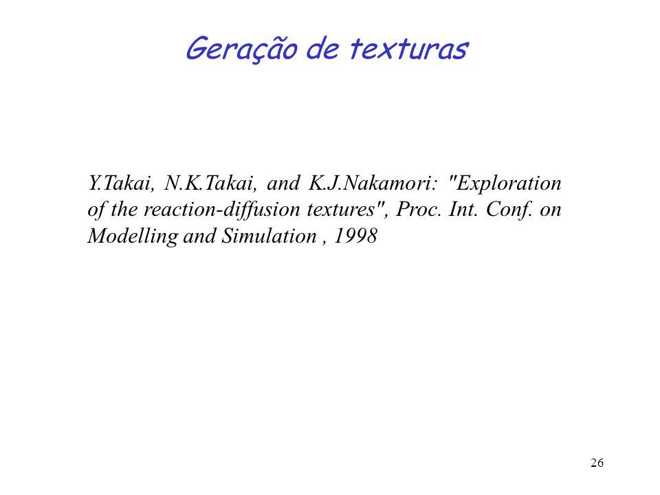 Geração de texturas