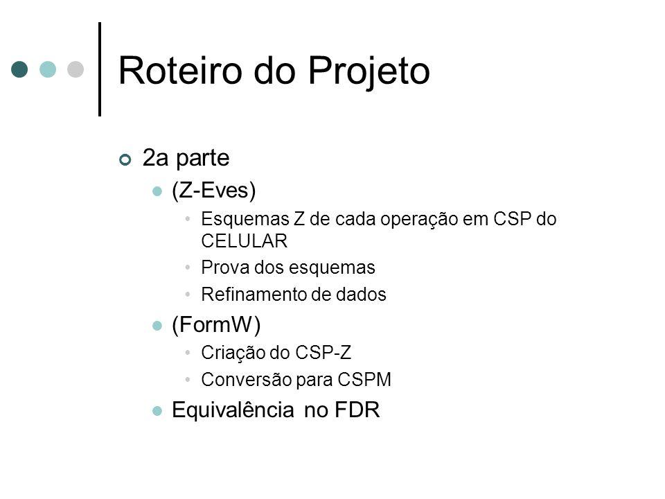 Roteiro do Projeto 2a parte (Z-Eves) (FormW) Equivalência no FDR