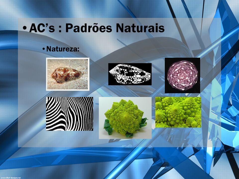 AC's : Padrões Naturais