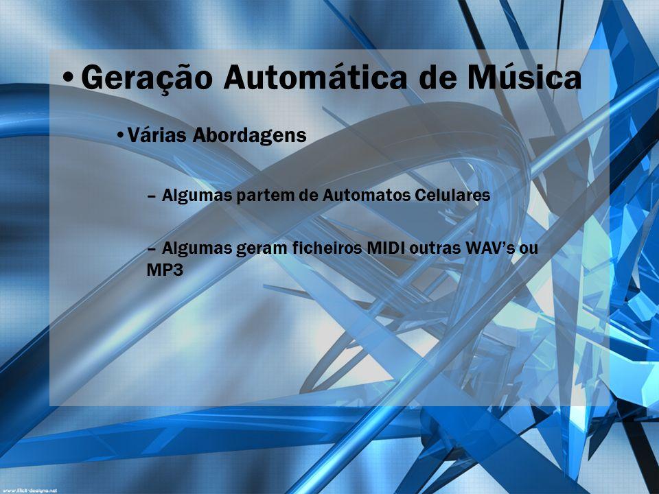 Geração Automática de Música
