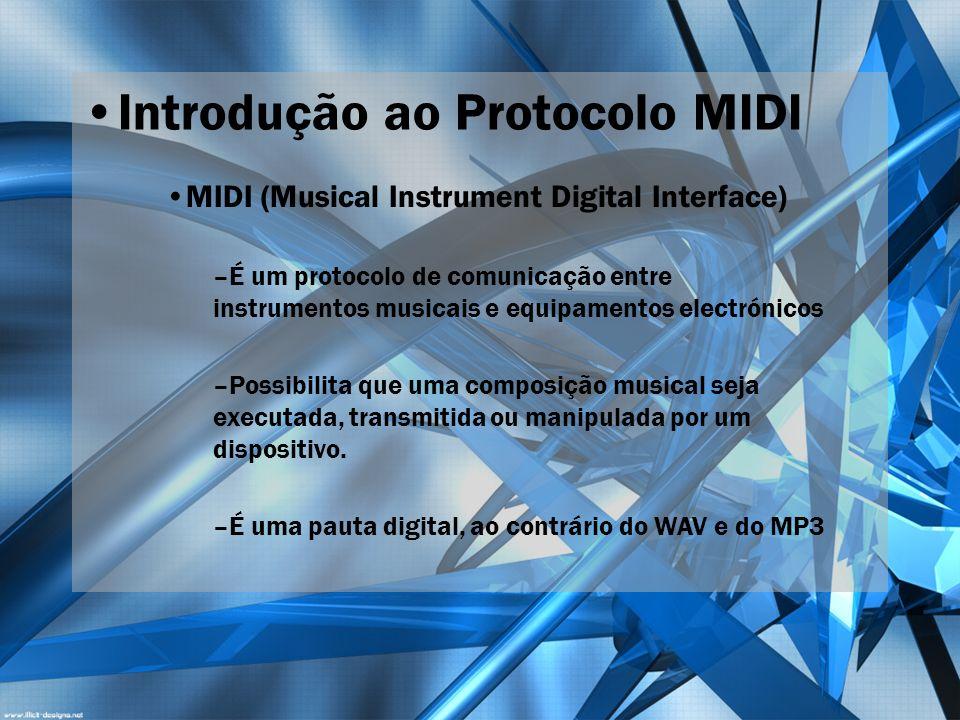 Introdução ao Protocolo MIDI