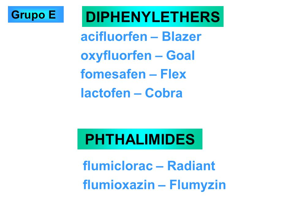 DIPHENYLETHERS PHTHALIMIDES