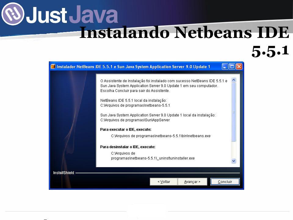 Instalando Netbeans IDE 5.5.1