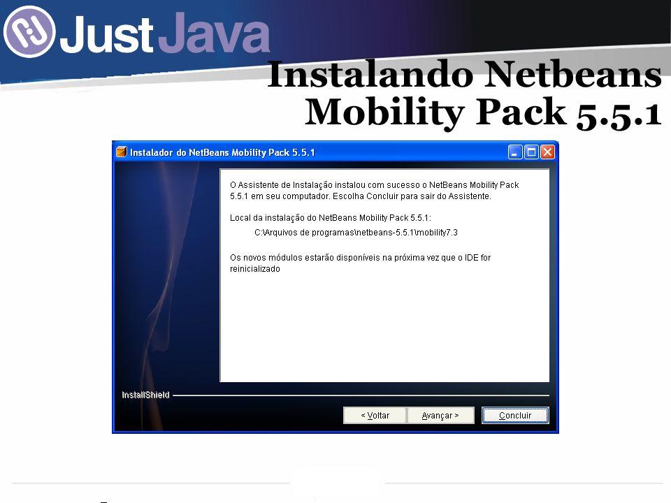 Instalando Netbeans Mobility Pack 5.5.1