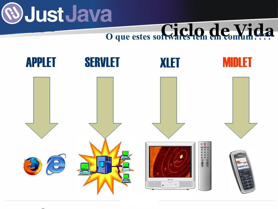 O que estes softwares tem em comum