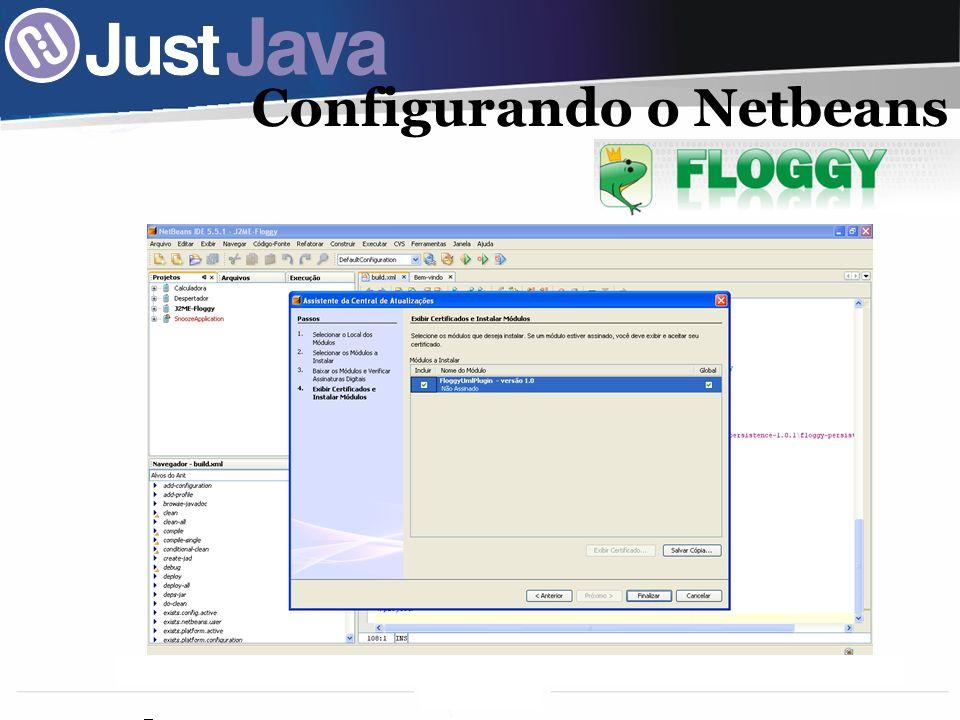 Configurando o Netbeans