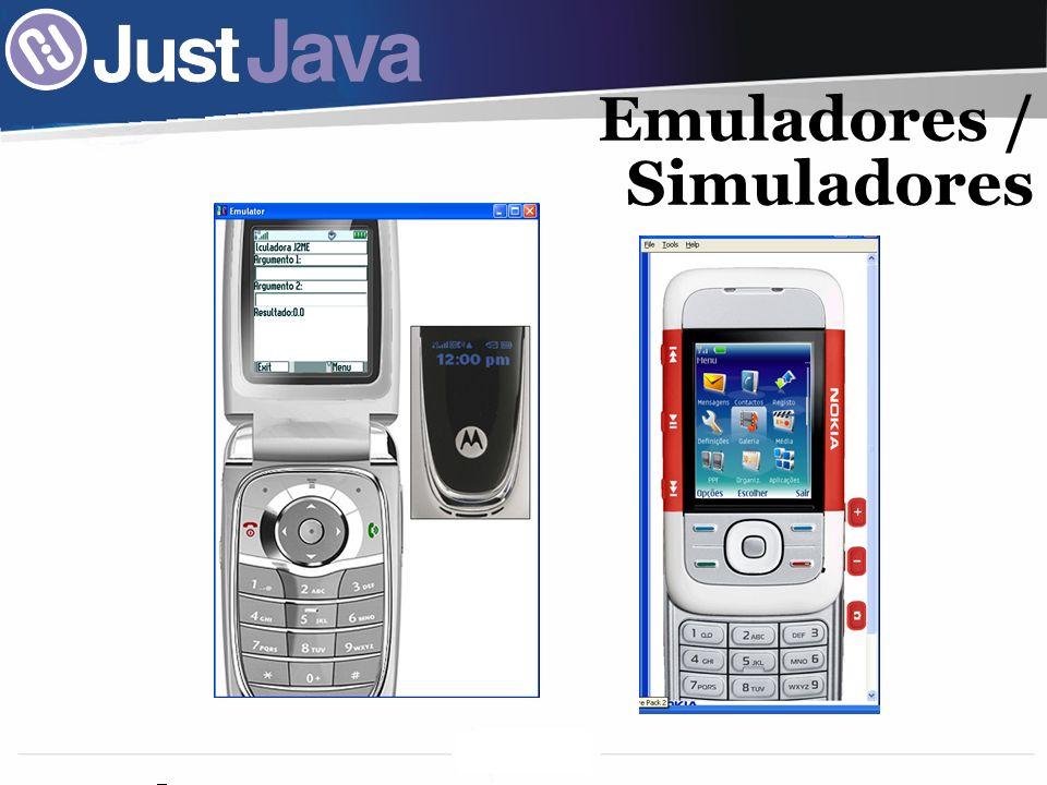 Emuladores / Simuladores
