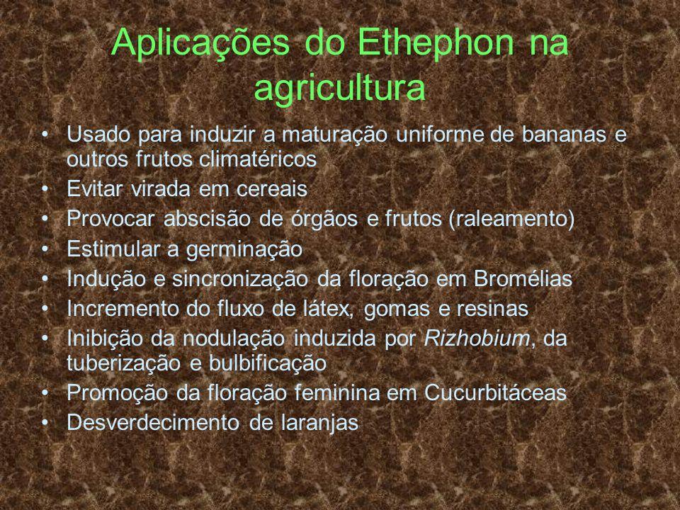 Aplicações do Ethephon na agricultura
