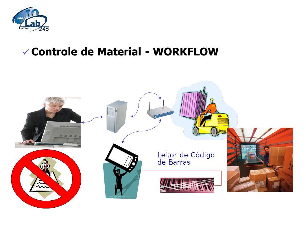 Controle de Material - WORKFLOW