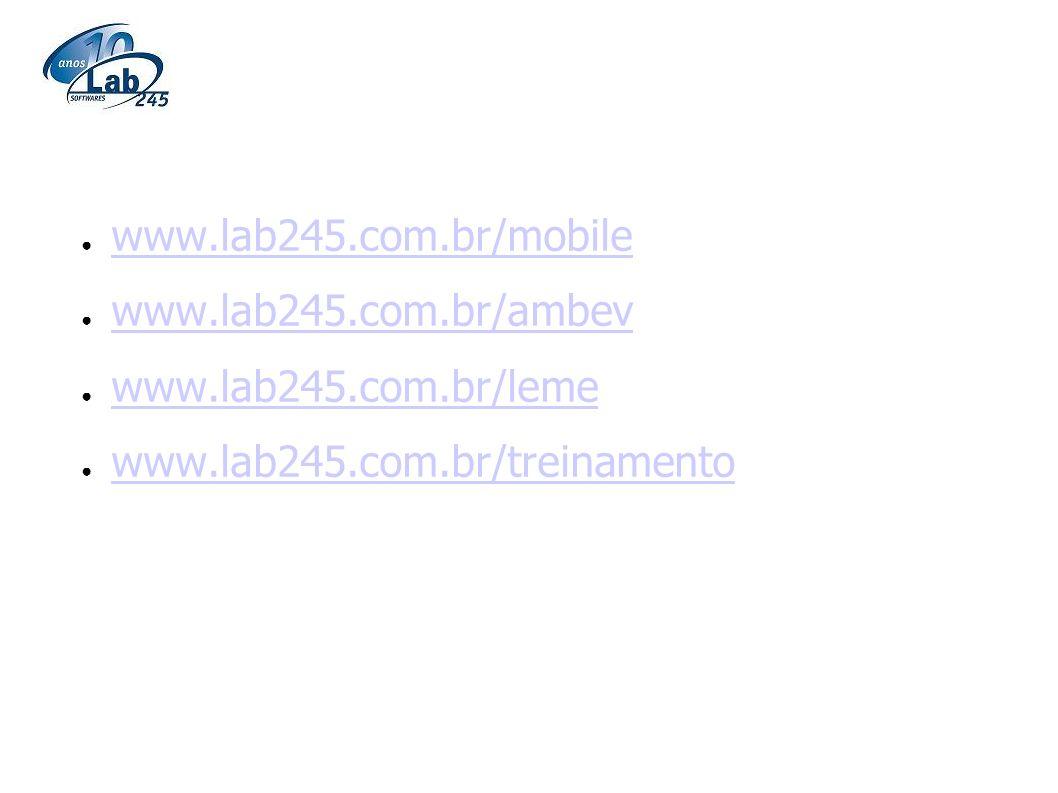 www.lab245.com.br/mobile www.lab245.com.br/ambev. www.lab245.com.br/leme.