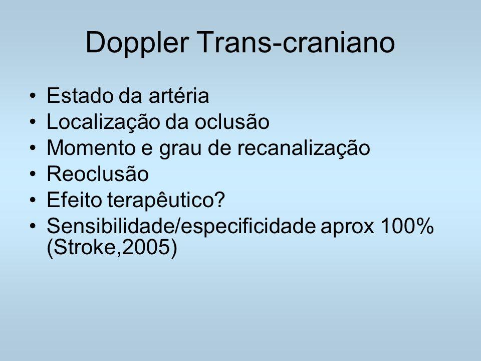 Doppler Trans-craniano