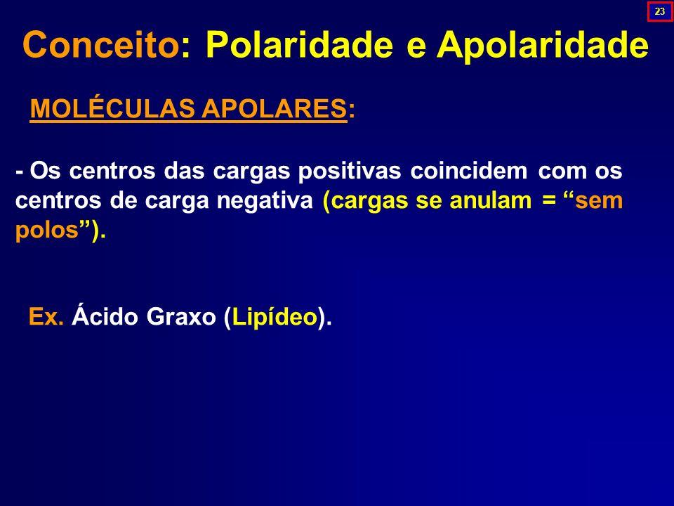 Conceito: Polaridade e Apolaridade
